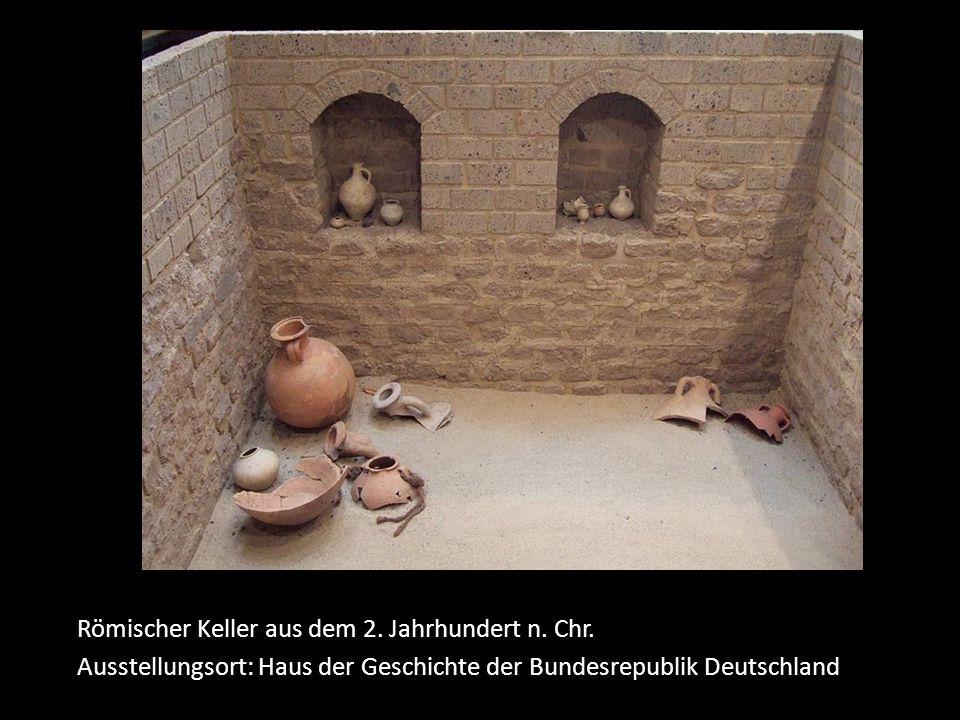 Römischer Keller aus dem 2. Jahrhundert n. Chr.