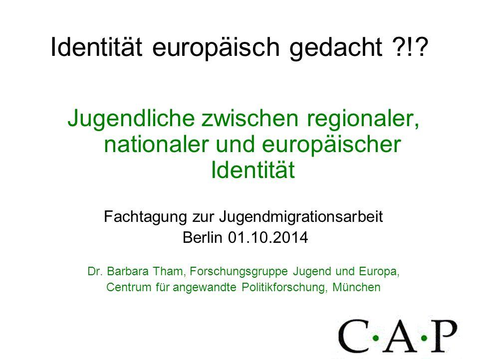 Identität europäisch gedacht !