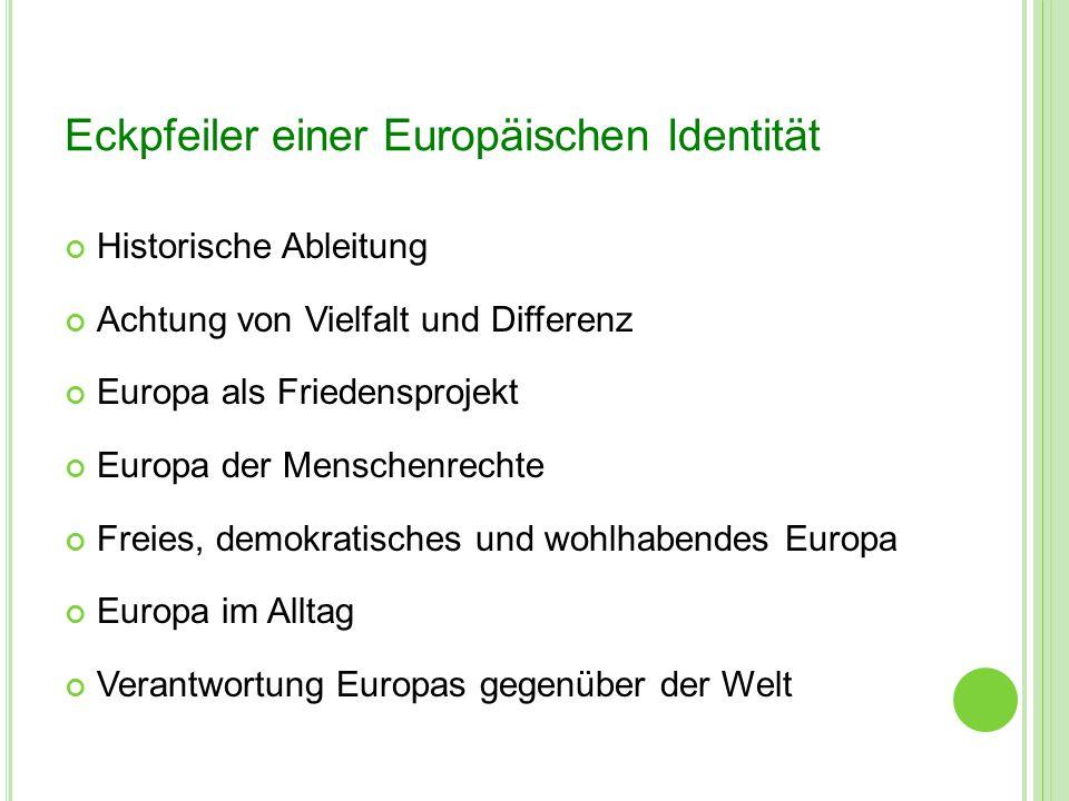 Eckpfeiler einer Europäischen Identität