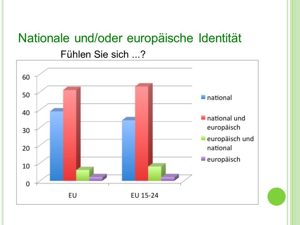 Nationale und/oder europäische Identität