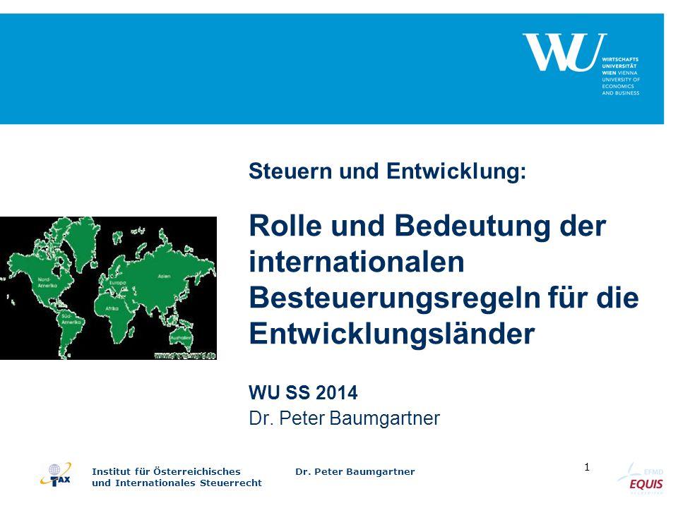 WU SS 2014 Dr. Peter Baumgartner