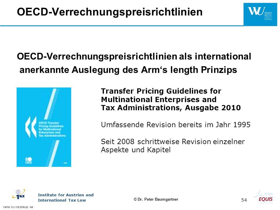 OECD-Verrechnungspreisrichtlinien