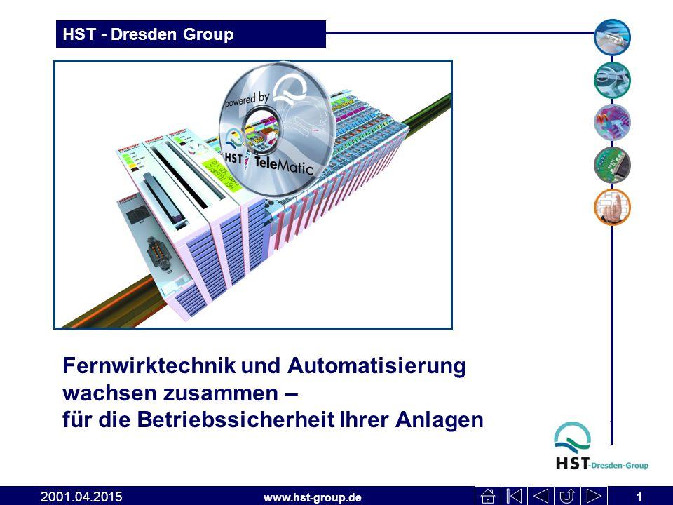 HST TeleMatic Fernwirktechnik und Automatisierung wachsen zusammen – für die Betriebssicherheit Ihrer Anlagen.