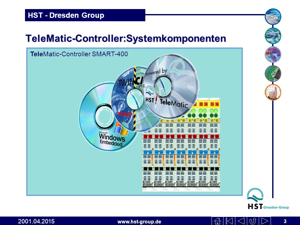 TeleMatic-Controller:Systemkomponenten
