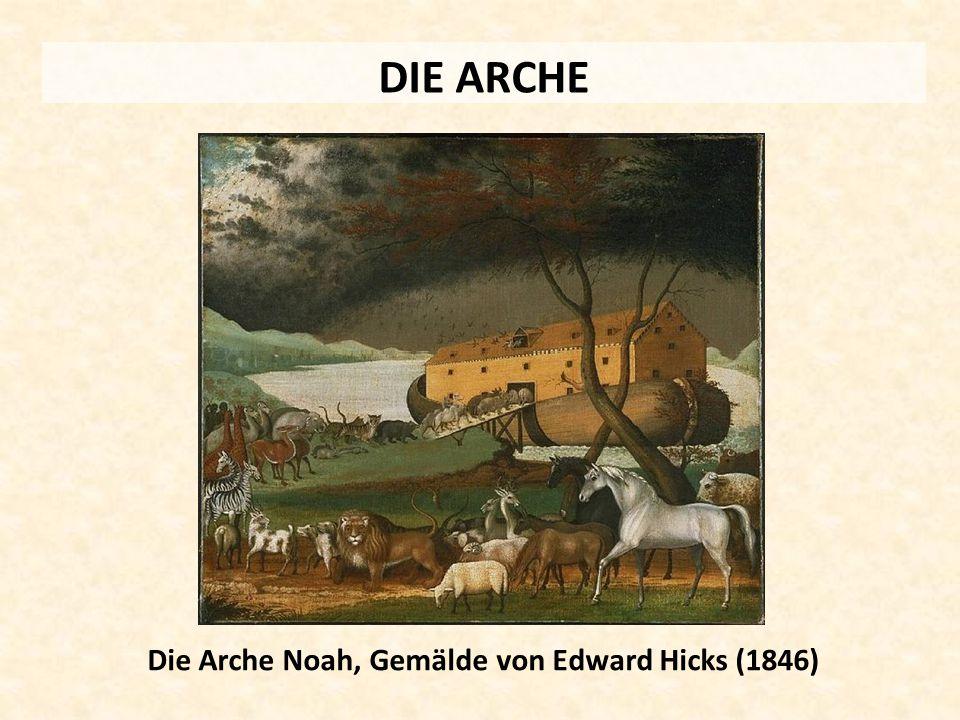 Die Arche Noah, Gemälde von Edward Hicks (1846)