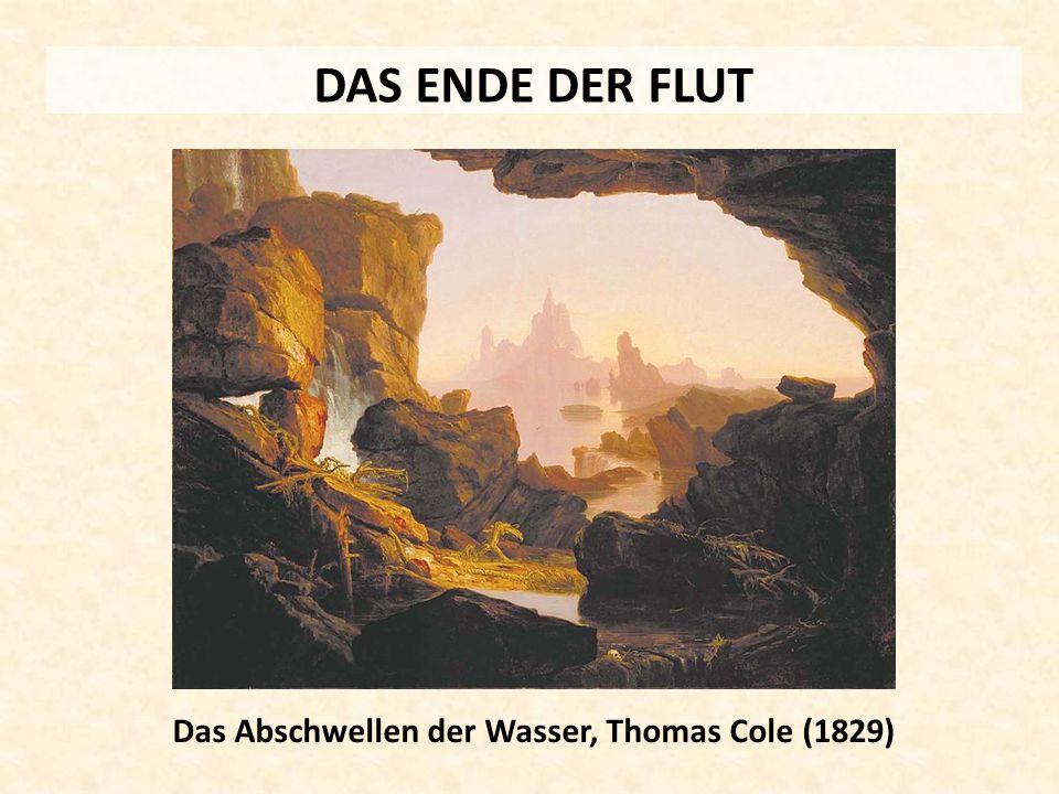 Das Abschwellen der Wasser, Thomas Cole (1829)