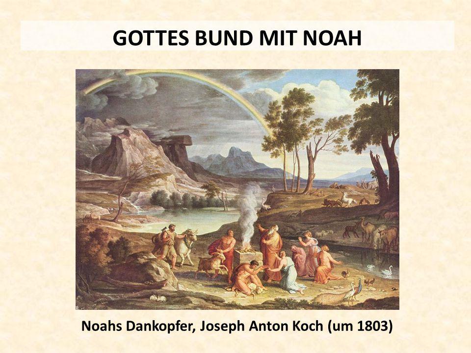 Noahs Dankopfer, Joseph Anton Koch (um 1803)