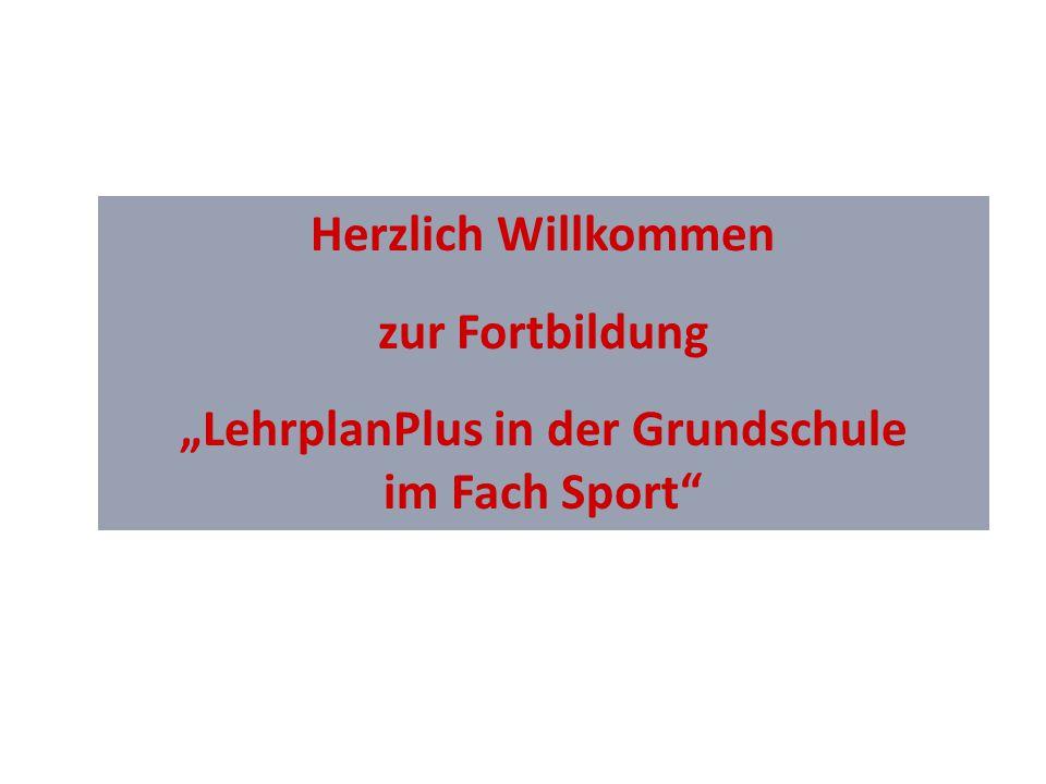 """""""LehrplanPlus in der Grundschule"""