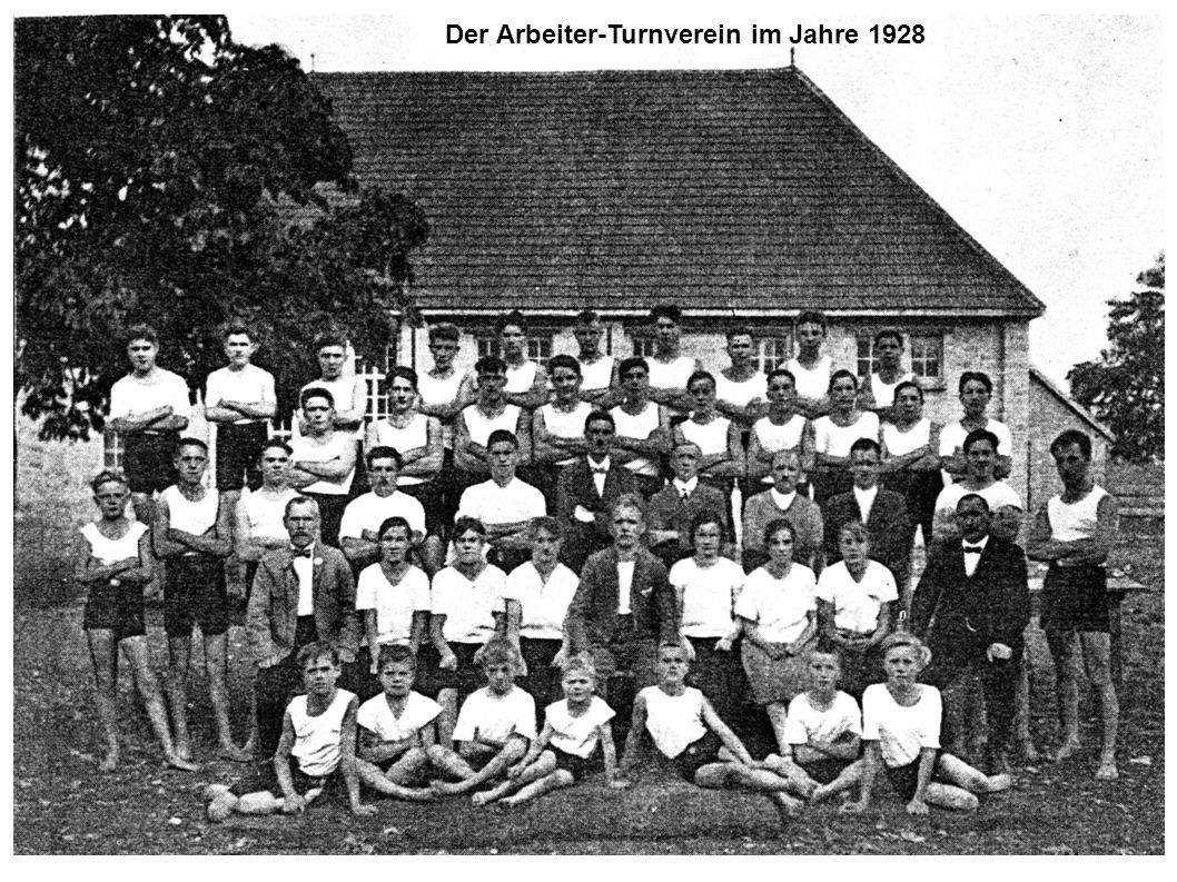 Der Arbeiter-Turnverein im Jahre 1928