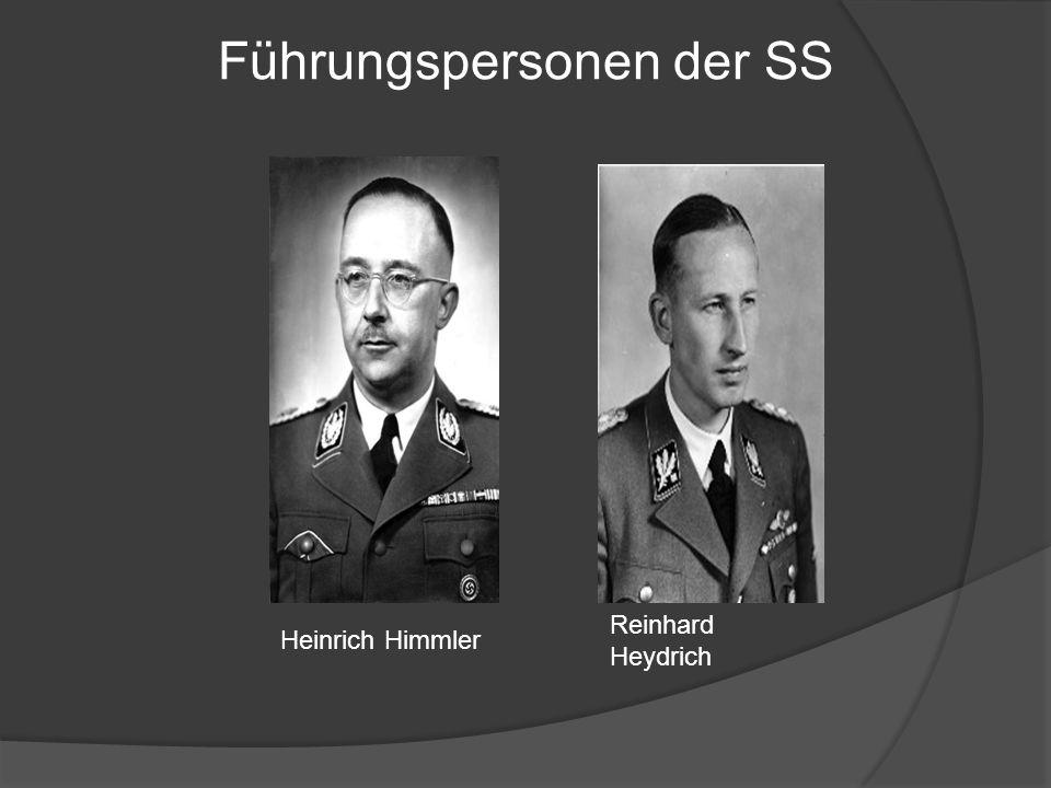 Führungspersonen der SS