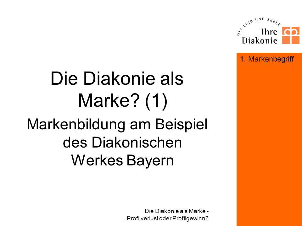 Die Diakonie als Marke (1)