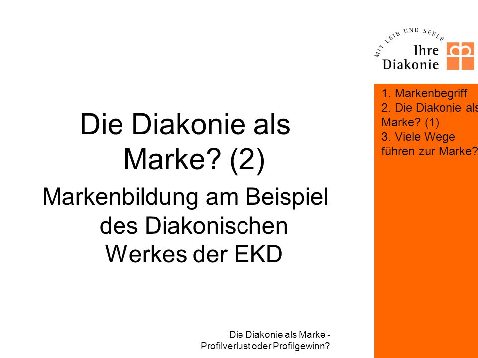 Die Diakonie als Marke (2)