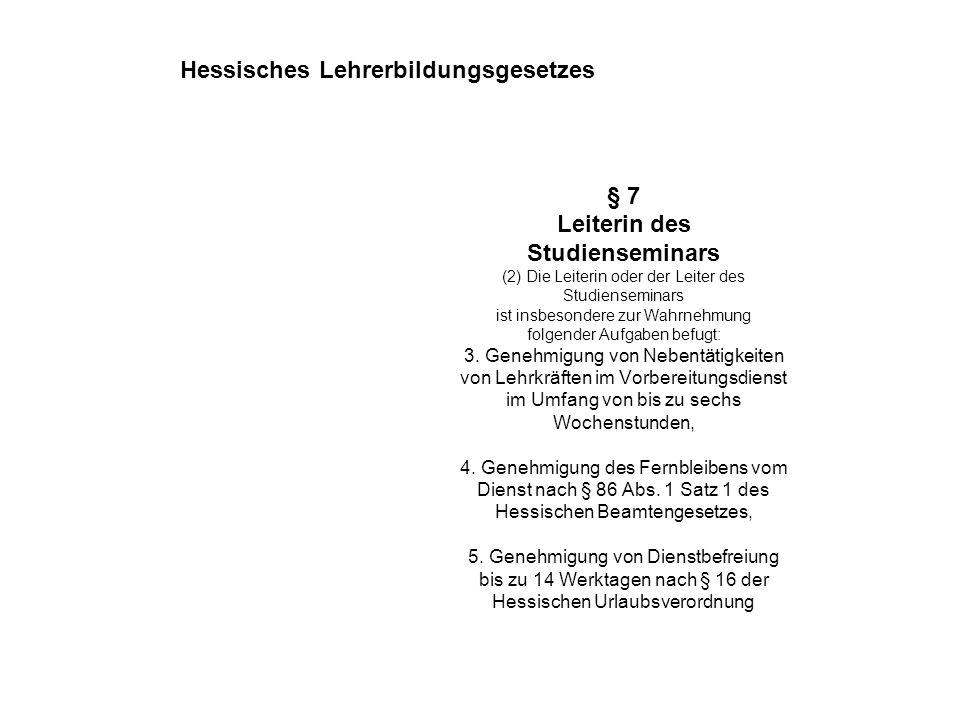 Hessisches Lehrerbildungsgesetzes