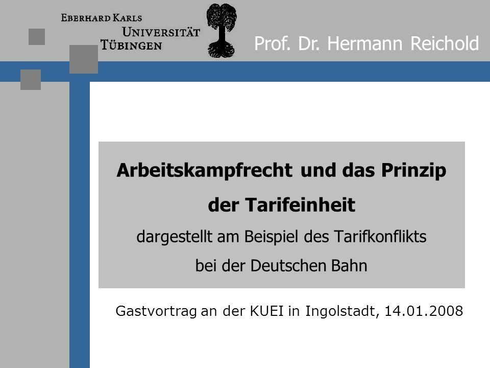 Gastvortrag an der KUEI in Ingolstadt, 14.01.2008