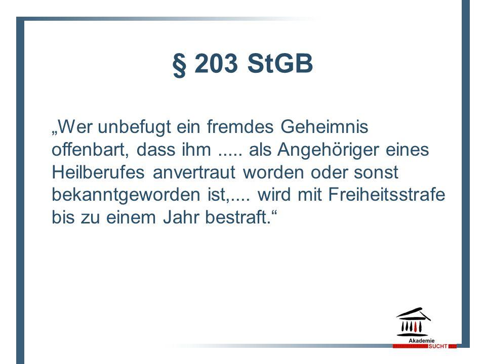§ 203 StGB