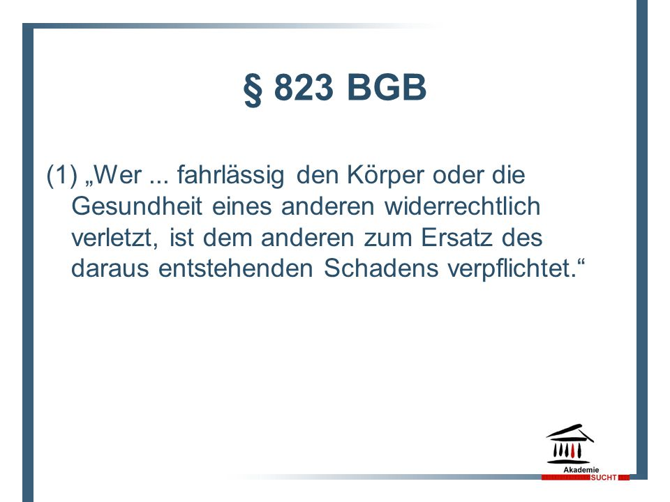 § 823 BGB