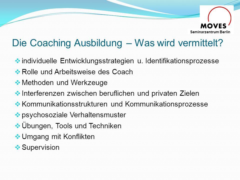 Die Coaching Ausbildung – Was wird vermittelt
