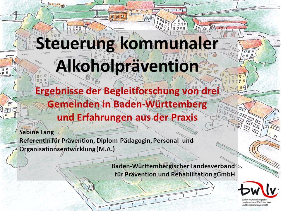 Steuerung kommunaler Alkoholprävention
