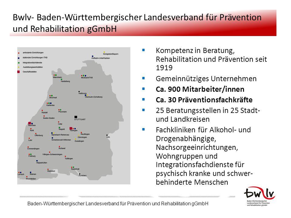 Bwlv- Baden-Württembergischer Landesverband für Prävention und Rehabilitation gGmbH