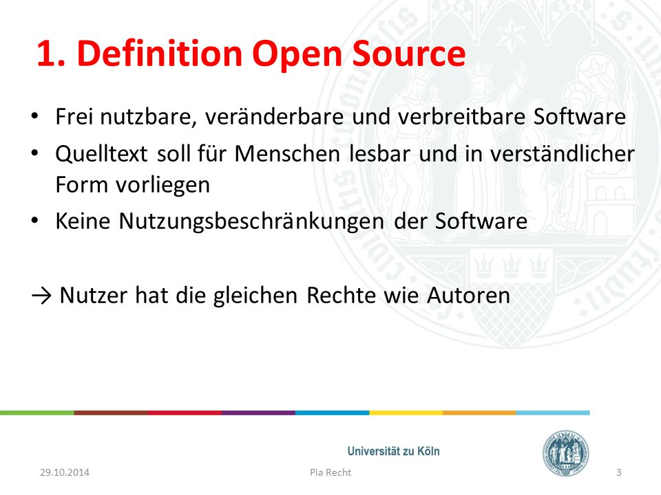 1. Definition Open Source