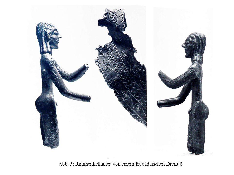 Abb. 5: Ringhenkelhalter von einem früdädaischen Dreifuß