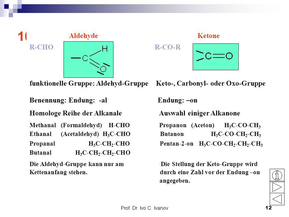 10. Aldehyde und Ketone: Grundlagen