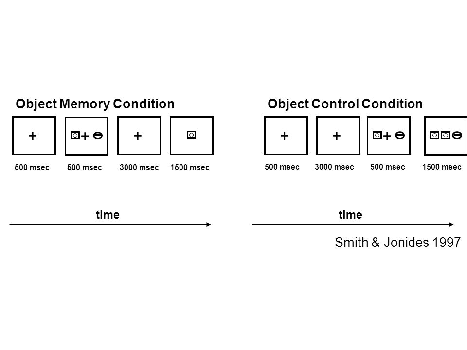 + Object Memory Condition Object Control Condition
