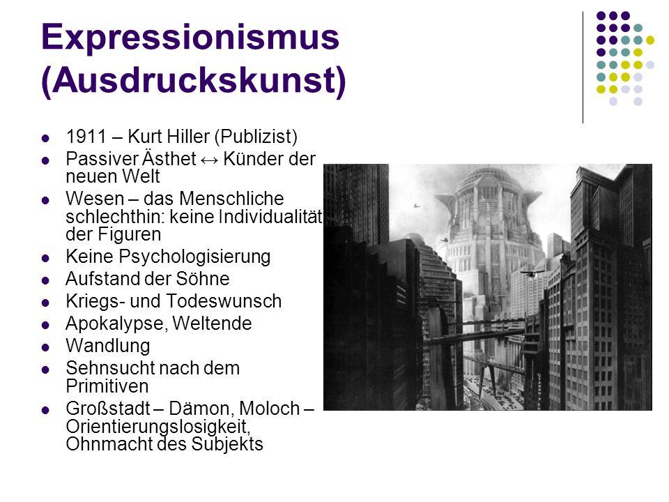 Expressionismus (Ausdruckskunst)