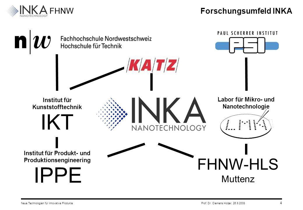 Forschungsumfeld INKA