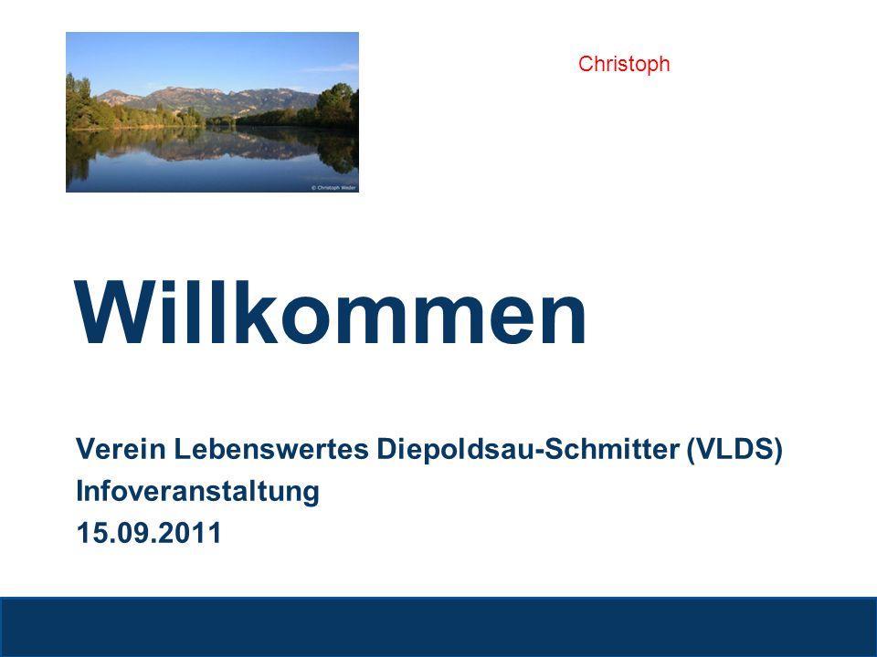 Willkommen Verein Lebenswertes Diepoldsau-Schmitter (VLDS)