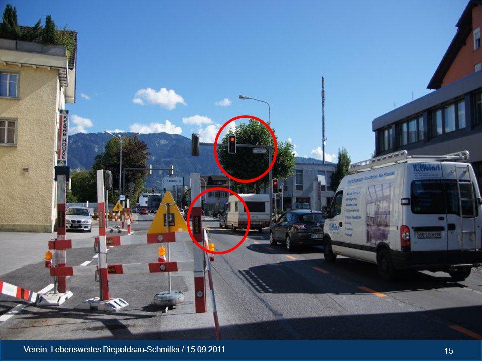 5. Aktivitäten Radweg Verkehrserhebung Geschwindigkeitskontrollen