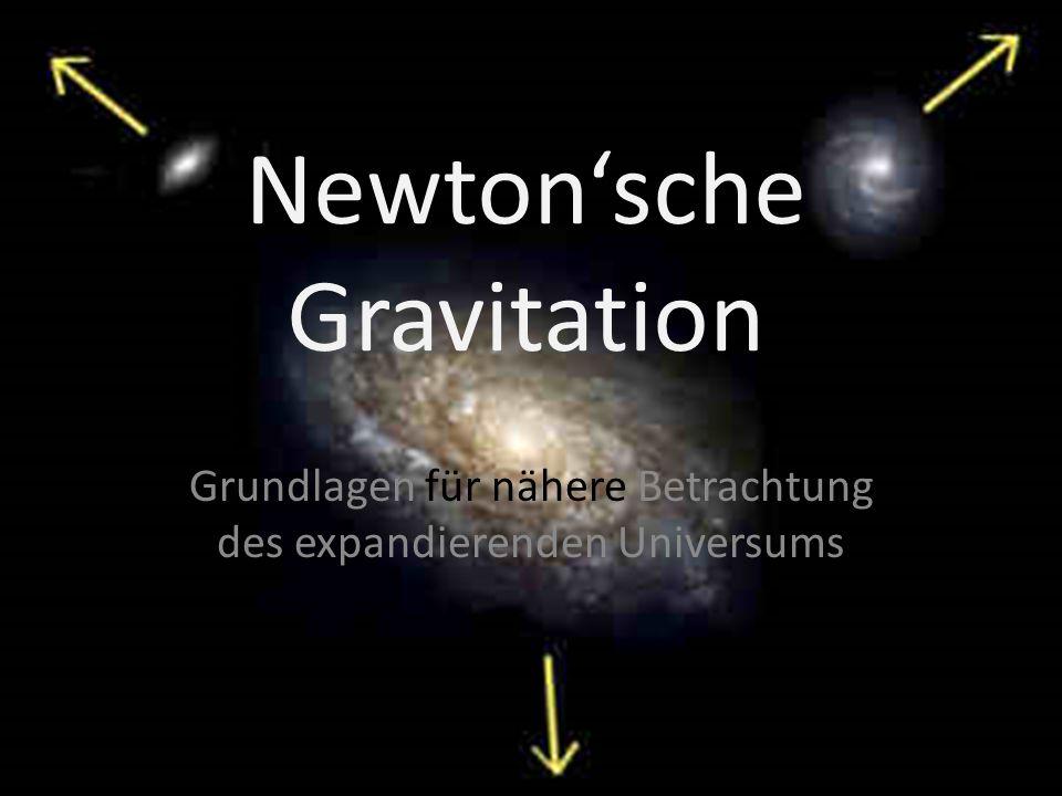 Newton'sche Gravitation