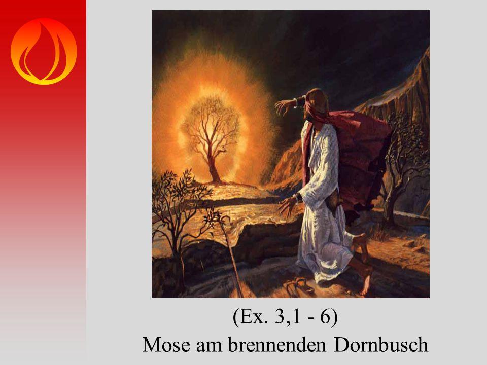 Mose am brennenden Dornbusch