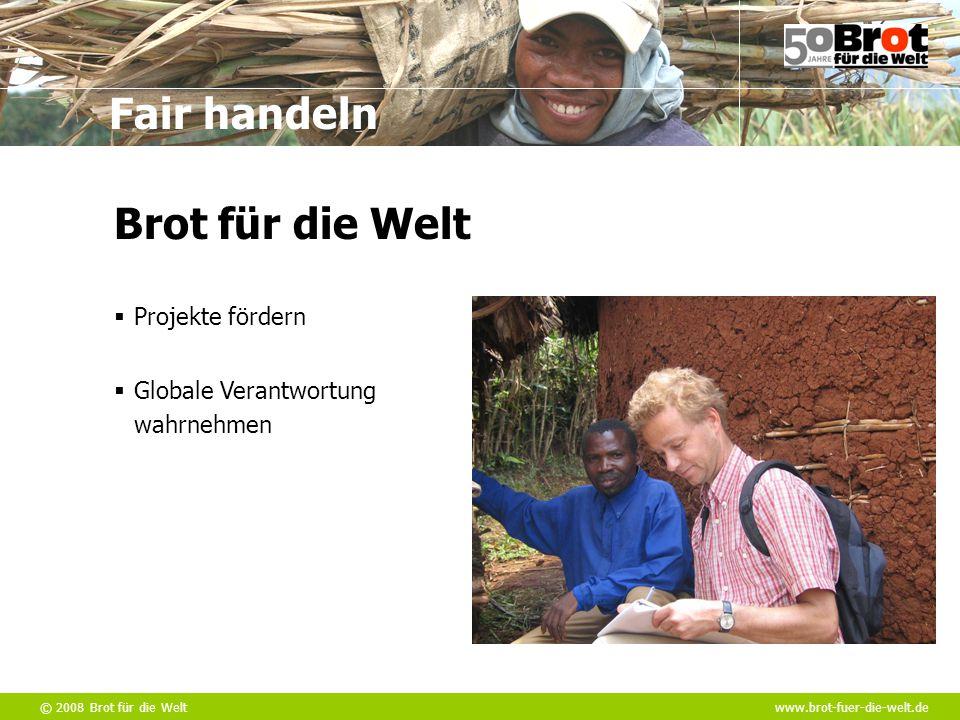 Brot für die Welt Projekte fördern Globale Verantwortung wahrnehmen