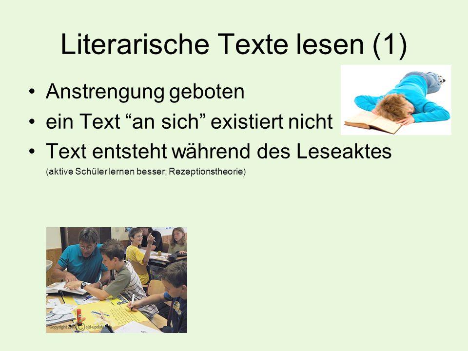 Literarische Texte lesen (1)