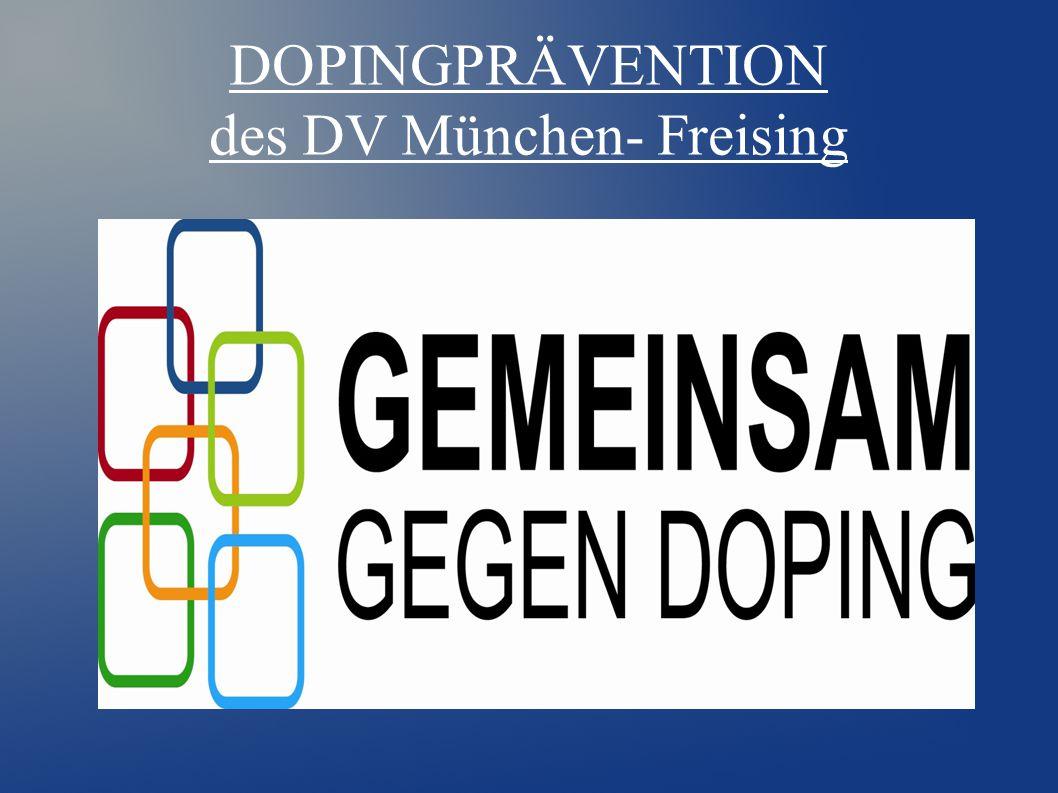 DOPINGPRÄVENTION des DV München- Freising