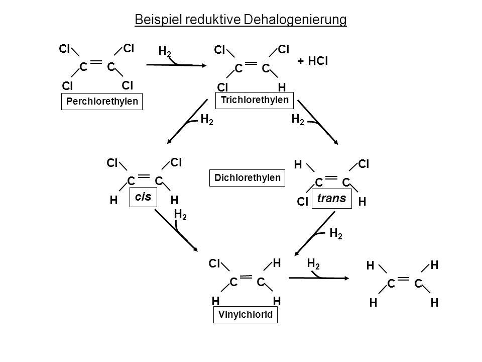 Beispiel reduktive Dehalogenierung