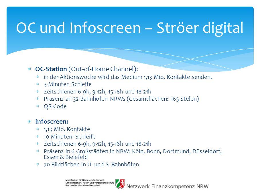 OC und Infoscreen – Ströer digital