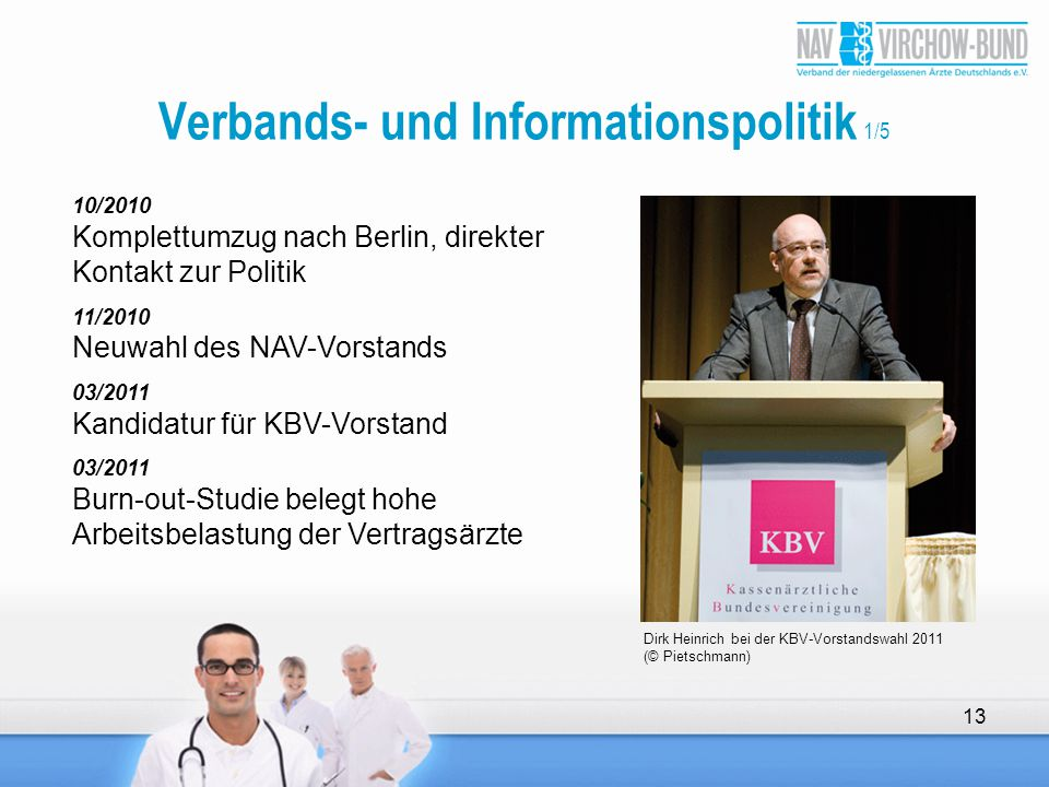 Verbands- und Informationspolitik 1/5