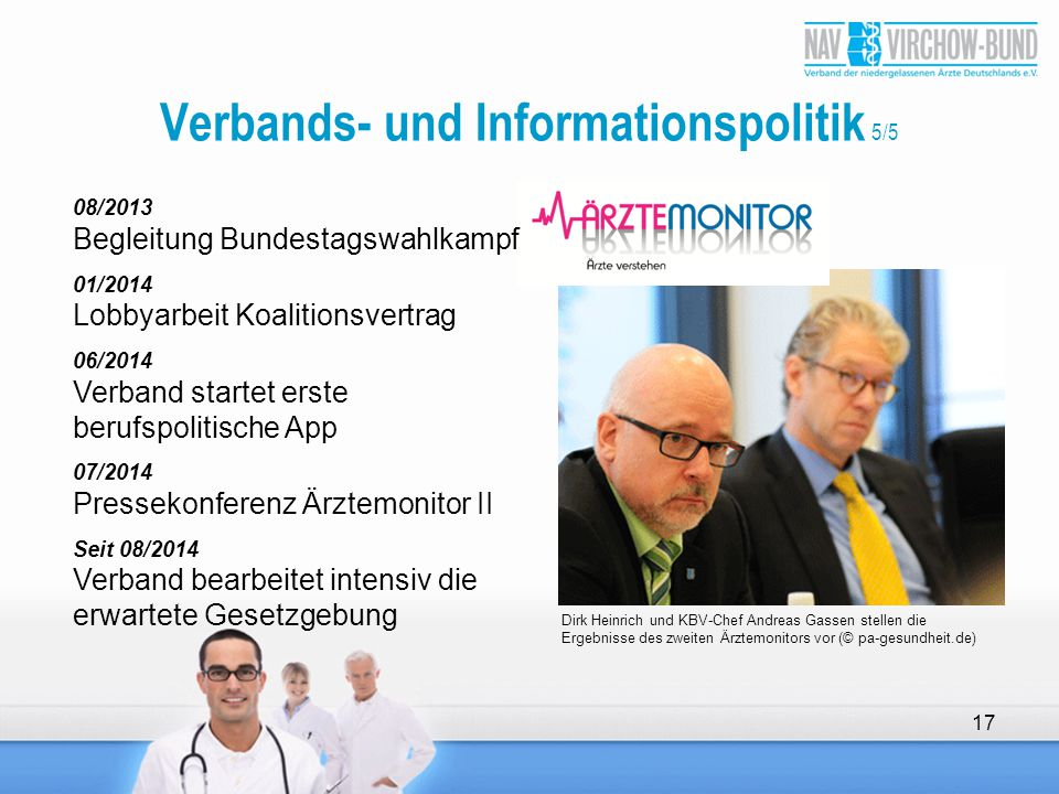 Verbands- und Informationspolitik 5/5
