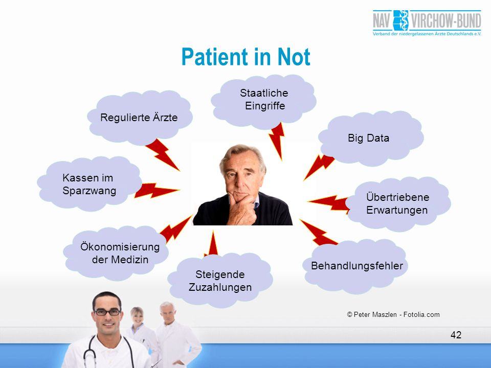 Patient in Not Staatliche Eingriffe Regulierte Ärzte Big Data