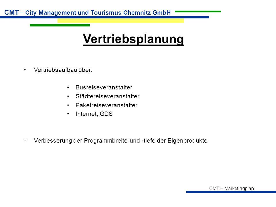 Vertriebsplanung Vertriebsaufbau über: Busreiseveranstalter