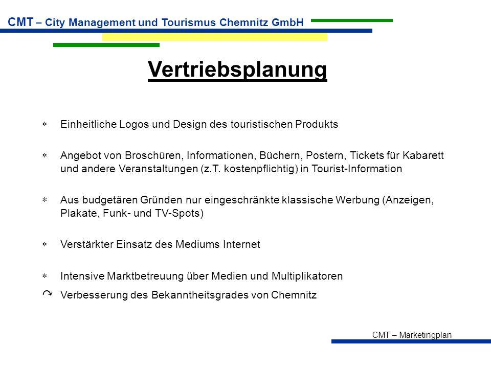 Vertriebsplanung ↷ Verbesserung des Bekanntheitsgrades von Chemnitz