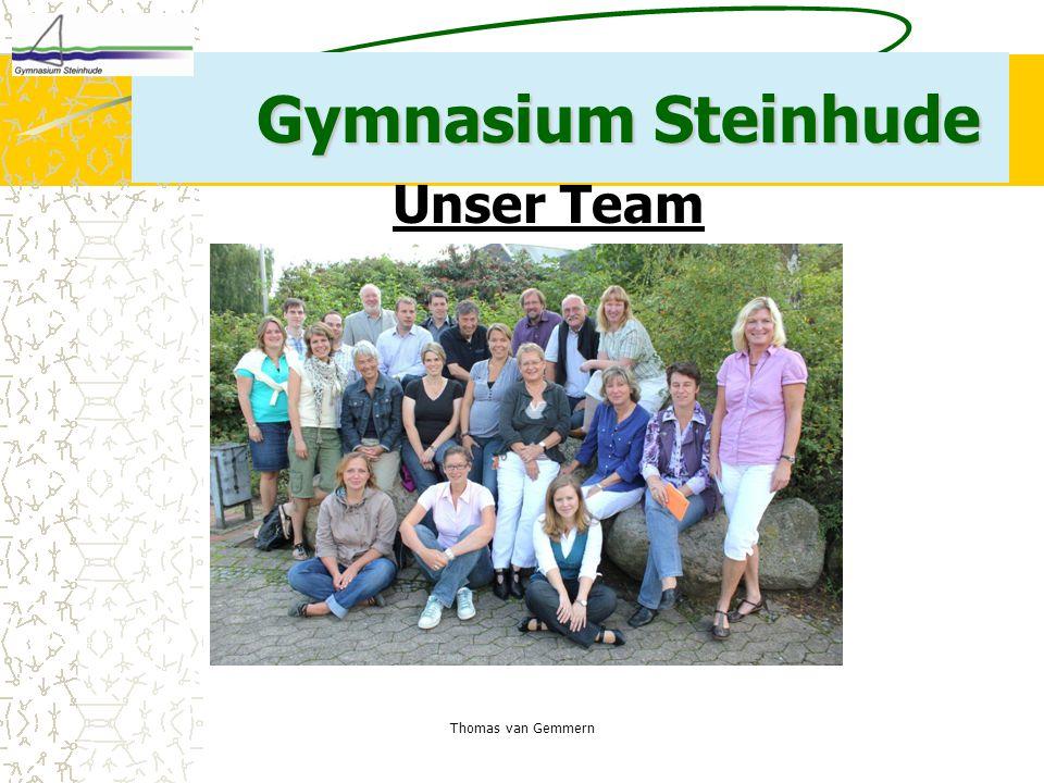 Gymnasium Steinhude Unser Team Thomas van Gemmern