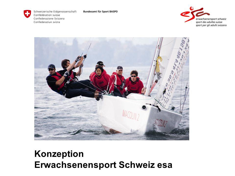 Konzeption Erwachsenensport Schweiz esa