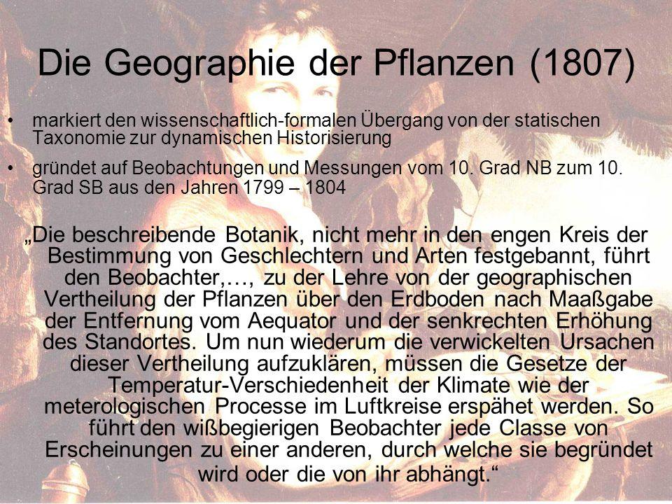 Die Geographie der Pflanzen (1807)