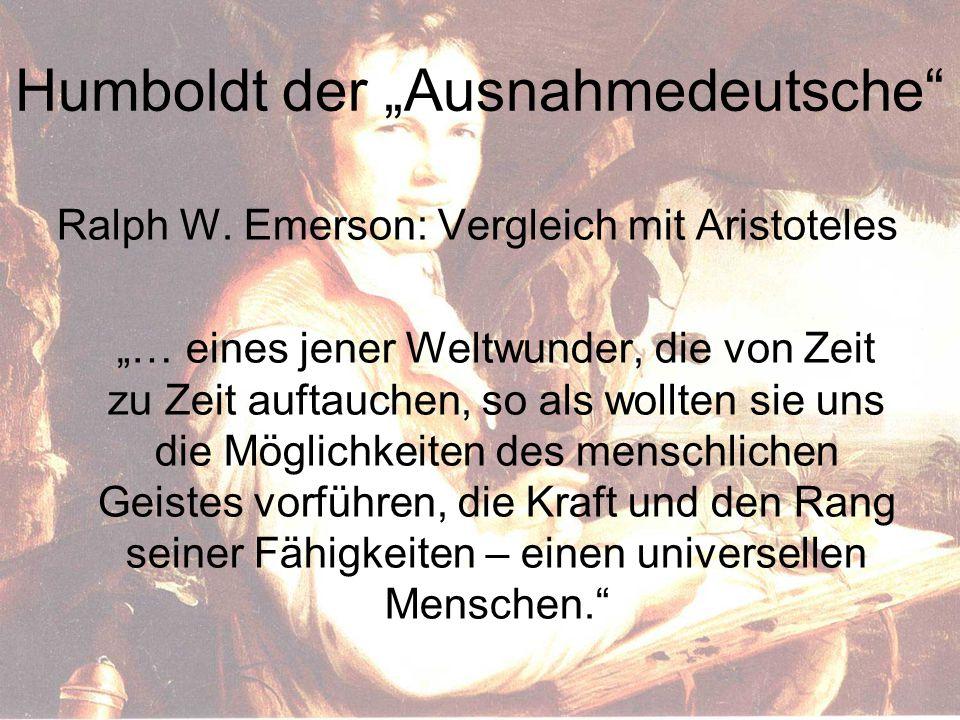 """Humboldt der """"Ausnahmedeutsche"""