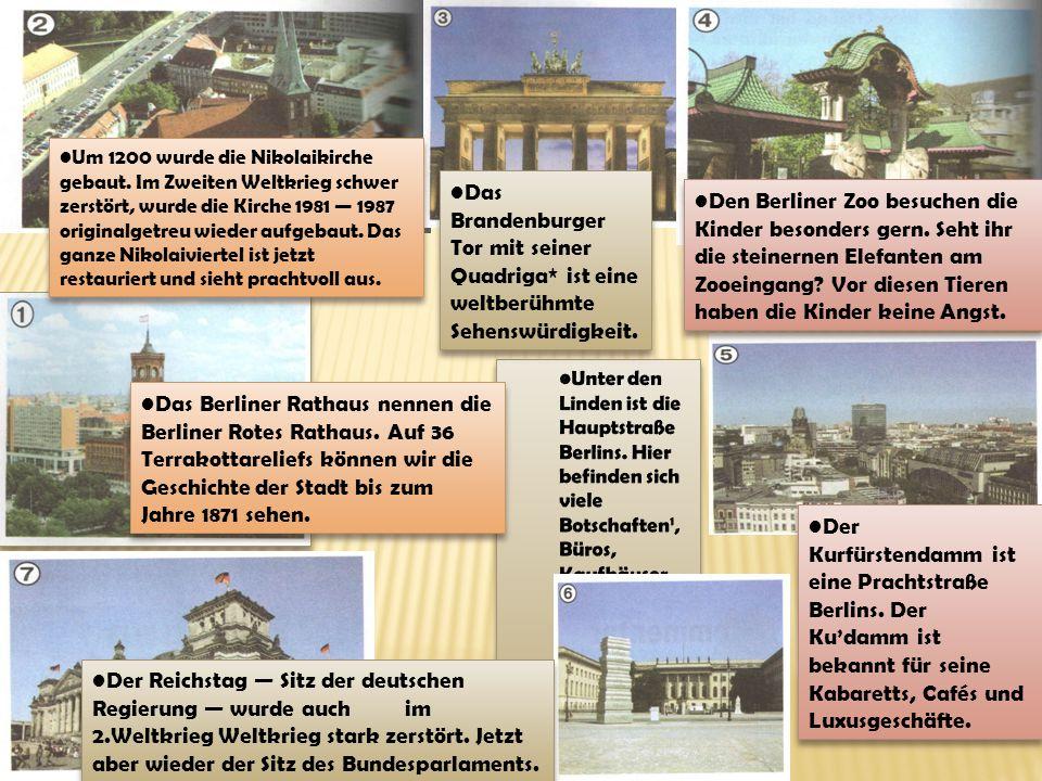 Um 1200 wurde die Nikolaikirche gebaut