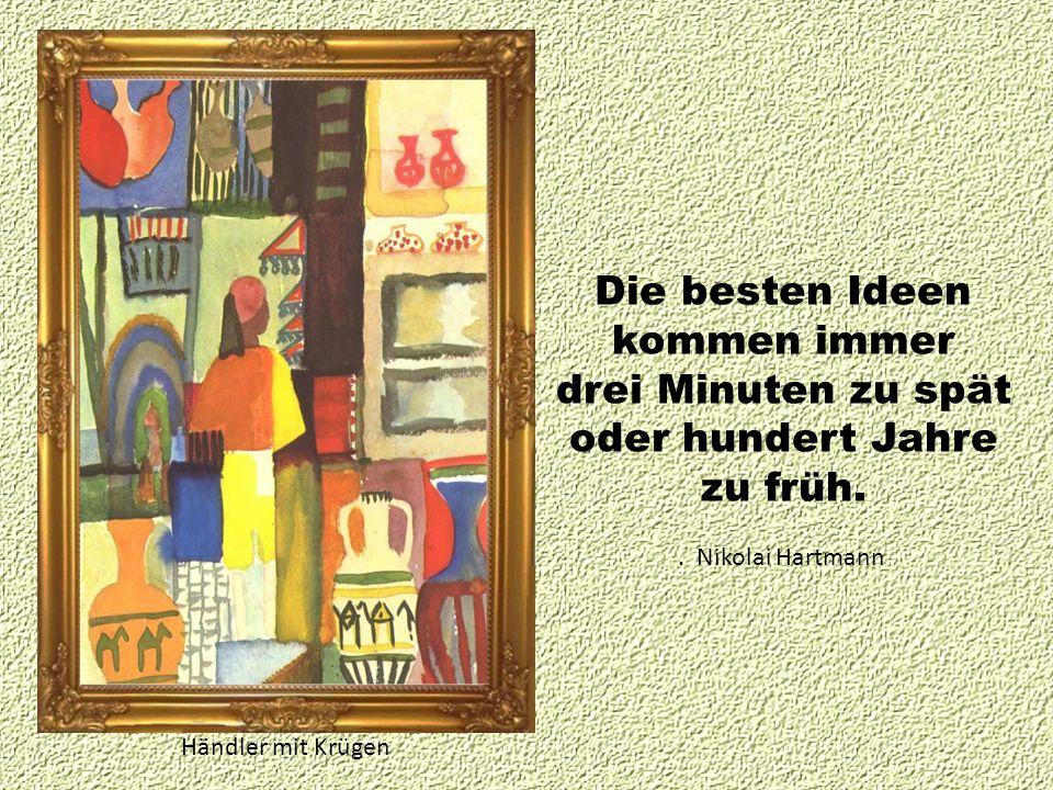 Die besten Ideen kommen immer drei Minuten zu spät oder hundert Jahre