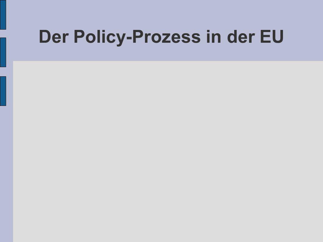 Der Policy-Prozess in der EU